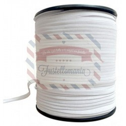 Nastro elastico bianco 6 mm 1 metro