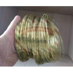 Filo di ottone bobina 50 metri spessore 0,6 mm