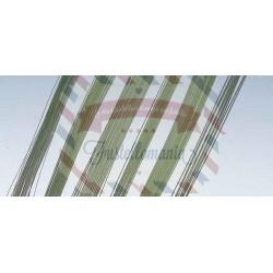 Filo di ferro 0,8 mm x 30 cm 30 pezzi colore verde