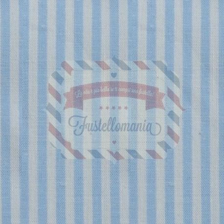 Tessuto 100% cotone 45x50 cm light blue