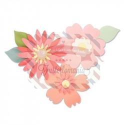 Fustella Sizzix Bigz bold blossoms