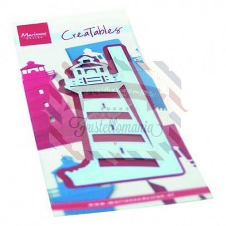 Fustella metallica Marianne Design Creatables gate folding die light house