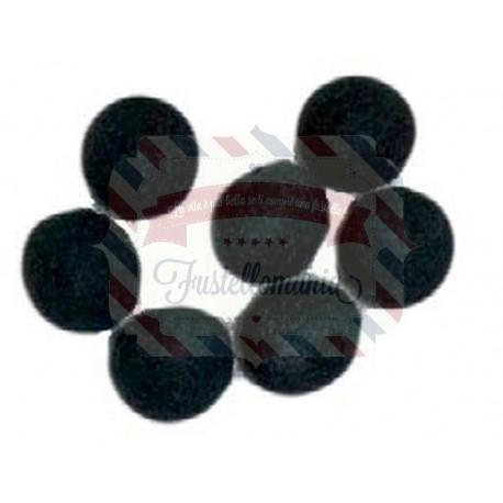 Palline in feltro 10mm 50 pezzi colore a scelta