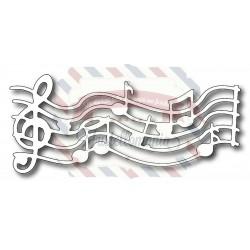Fustella metallica Spartito musicale