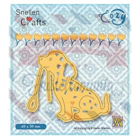 Fustella metallica Nellie's Choice Dog