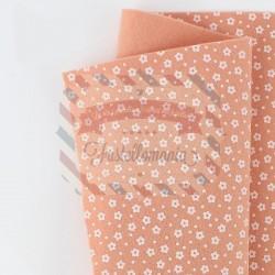 Pannolenci fiorellini 50x45 cm colore carne
