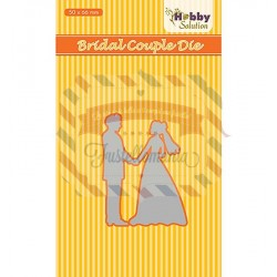 Fustella metallica Nellie's Choice Bridal couple