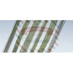 Filo di ferro 1,5 mm x 30 cm 10 pezzi colore verde