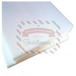 Imbottitura piatta in poliuretano 50x50 cm da 1 cm di spessore