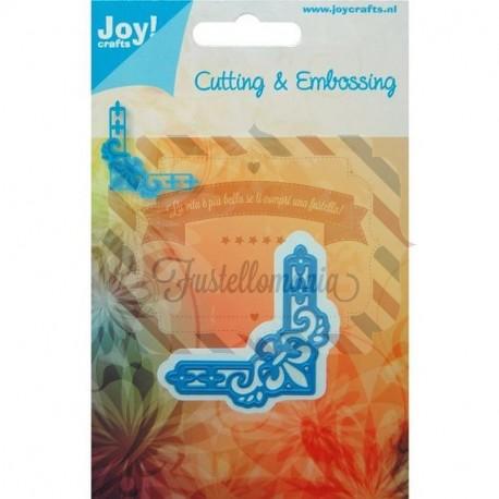 Fustella metallica Joy! Crafts Fleur de Lys corner 2