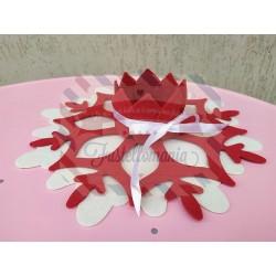 Fustella doppia XL Centro tavola cristallo di ghiaccio kit 2 fustelle
