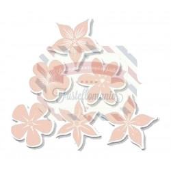 Fustella metallica Set di fiori
