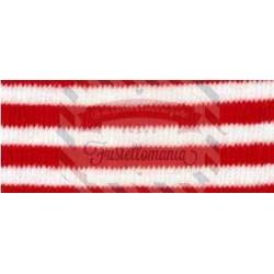 Tubolare in cotone a righe 30 cm colore a scelta