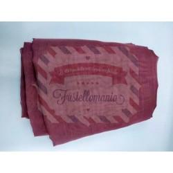 Tessuto Vedo colore rosa antico 35x100 cm