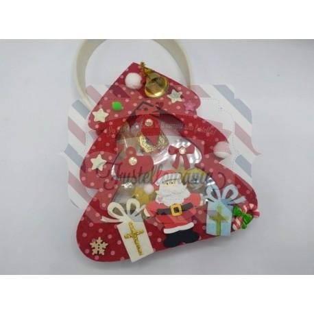 Fustella A4 Doppio Albero di Natale