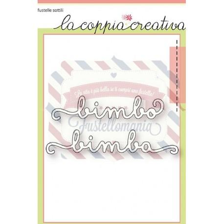 Fustella metallica Bimbo e Bimba