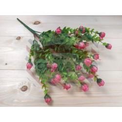 Rametto con rosellina colore rosa