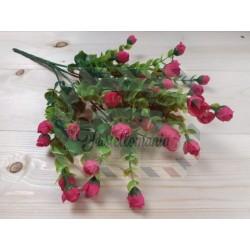 Rametto con roselline colore fucsia
