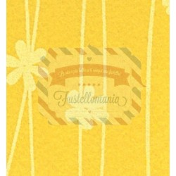 Pannolenci 1mm con fiori - 1 foglio 30x40 cm