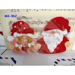 Fustella L Babbo Natale e Natalina