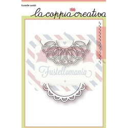 Fustella metallica Semicerchi decorativi