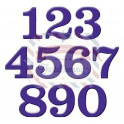 Fustella metallica Set numeri