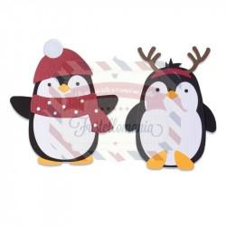 Fustella Sizzix Bigz Penguin friends