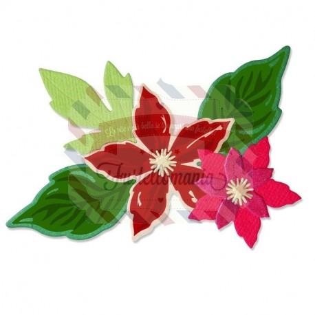 Fustella Sizzix Framelits Seasonal flowers