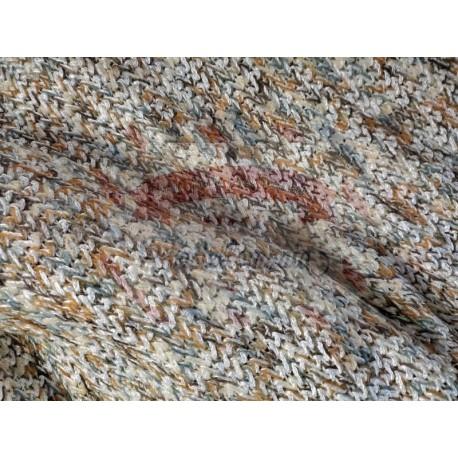 Tessuto maglia colore autunno 50x50 cm