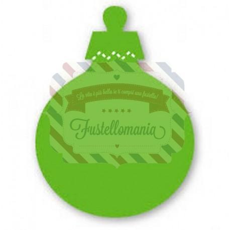 Fustella Sizzix Originals Green Pallina di Natale