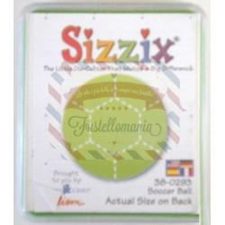 Fustella Sizzix Originals Green Pallone da calcio