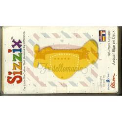 Fustella Sizzix Originals Yellow Aeroplano