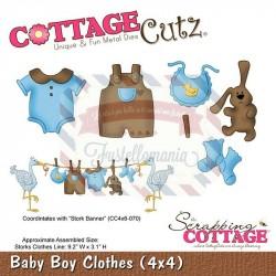 Fustella metallica Cottage Cutz Baby boys clothes