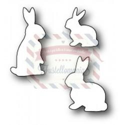 Fustella metallica Memory Box Springtime Bunnies