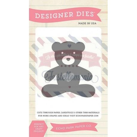 Fustella metallica Echo Park Teddy Bear