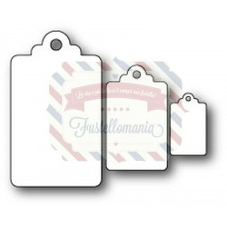 Fustella metallica PoppyStamps General Store Tags