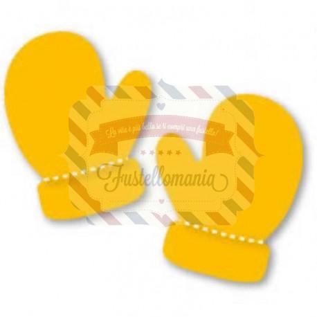 Fustella Sizzix Originals Yellow Guantoni pugile
