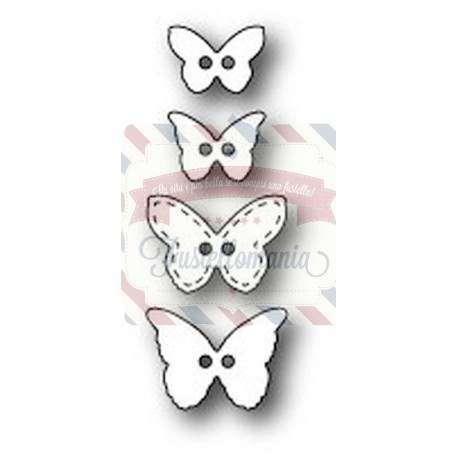 Fustella metallica PoppyStamps Butterfly Buttons