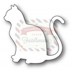 Fustella metallica PoppyStamps Graceful Cat