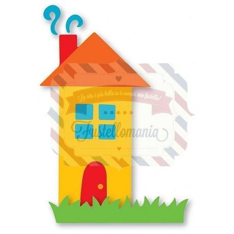 Fustella Sizzix Originals Casa dolce casa 3