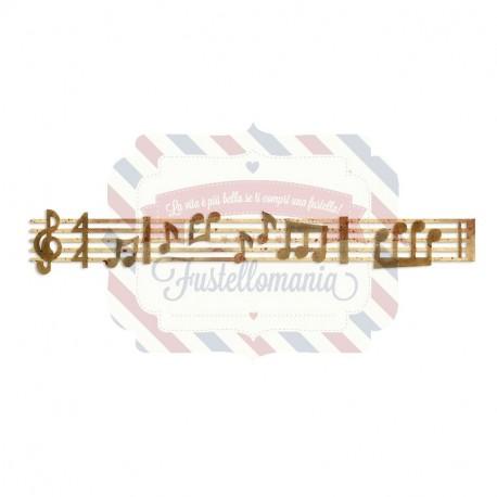 Fustella Sizzix Sizzlits Spartito musicale