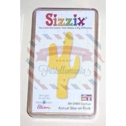 Fustella Sizzix Originals Yellow Cactus