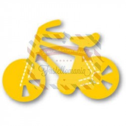 Fustella Sizzix Originals Yellow Bicicletta