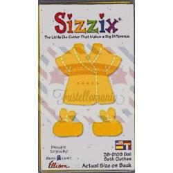 Fustella Sizzix Originals Yellow Vestiti da bagno