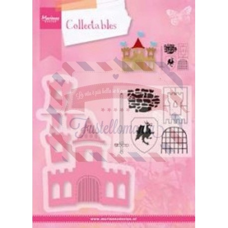 Fustella metallica Marianne Design Collectables Castle