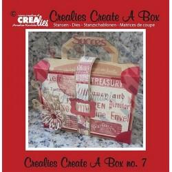 Fustella metallica Crealies Create a box Borsa da viaggio