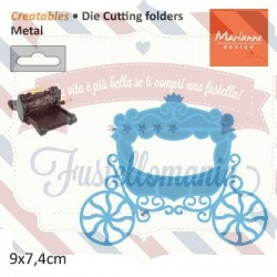 Fustella metallica Marianne Design Creatables Princess Carriage