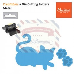 Fustella metallica Marianne Design Creatables Kitten