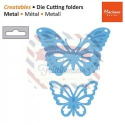 Fustella metallica Marianne Design Creatables Tiny's butterflies 1