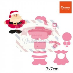 Fustella metallica Marianne Design Collectables Eline's santa 1